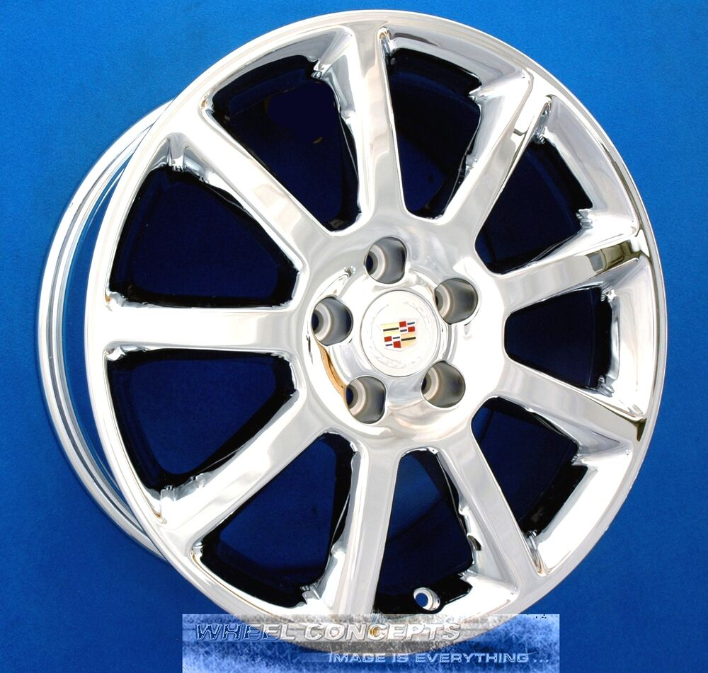 "CADILLAC CTS STS DTS 18 INCH CHROME WHEELS 18"" RIMS"