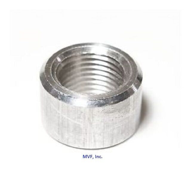 Quot npt threaded half coupling aluminum t schedule