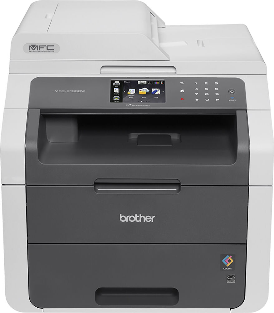 Brother Mfc 9130cw Color Wireless Laser Printer Gray