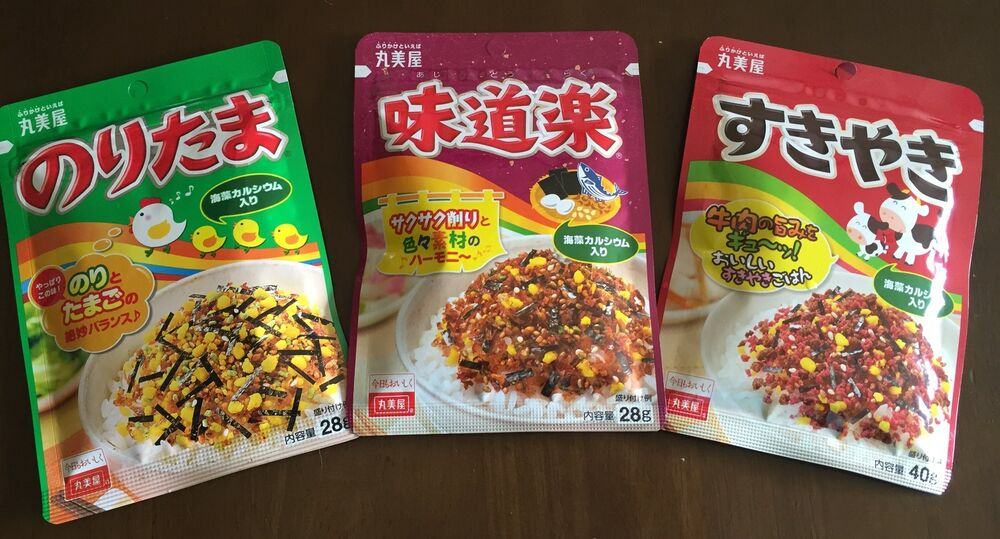 Japanese Food - MARUMIYA - Furikake Rice Seasoning | eBay