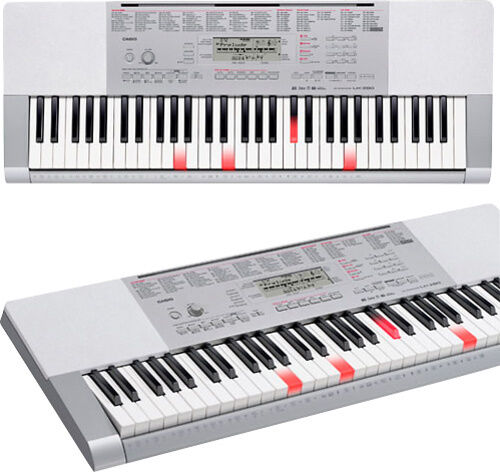 casio portable keyboard with 61 full size touch sensitive lighted piano sty ebay. Black Bedroom Furniture Sets. Home Design Ideas