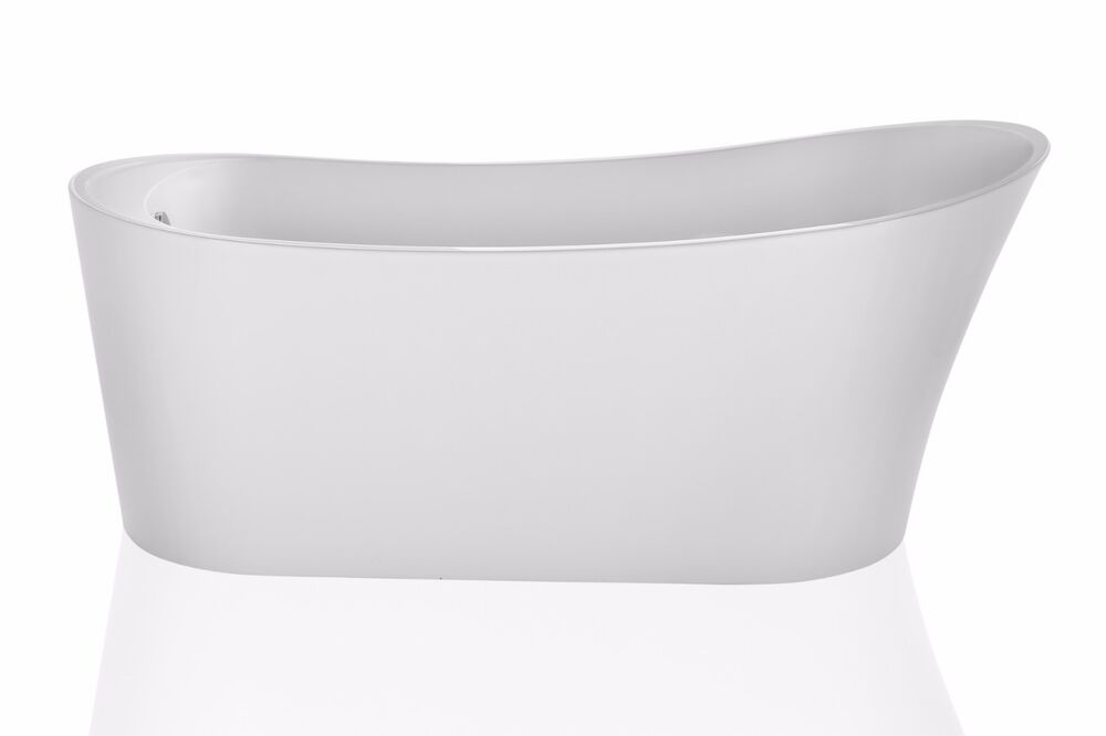 Empava 67 luxury contemporary bathroom freestanding tubs for Luxury tubs