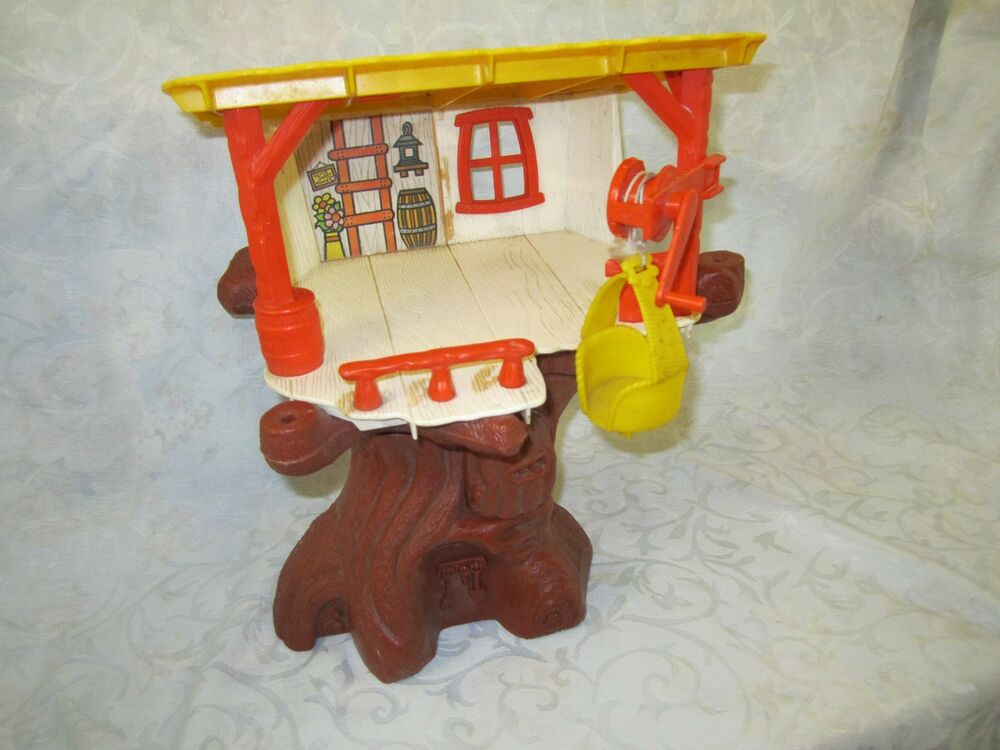 little people play family playskool weebles tree house