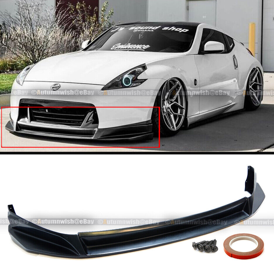 Fit 09-12 370z Unpainted Polyurethane SI Style Front