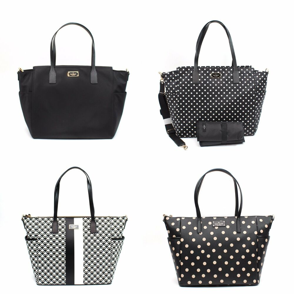 kate spade blake avenue taden penn place adaira baby diaper bag tote crossbody ebay. Black Bedroom Furniture Sets. Home Design Ideas