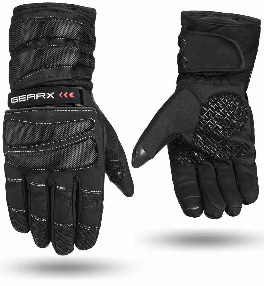 Gearx Blade Motorbike Motorcycle Gloves Waterproof Thermal ...