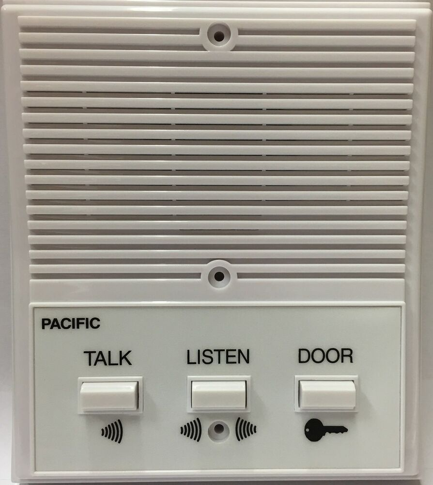 pacific apartment intercom station 3406 universal