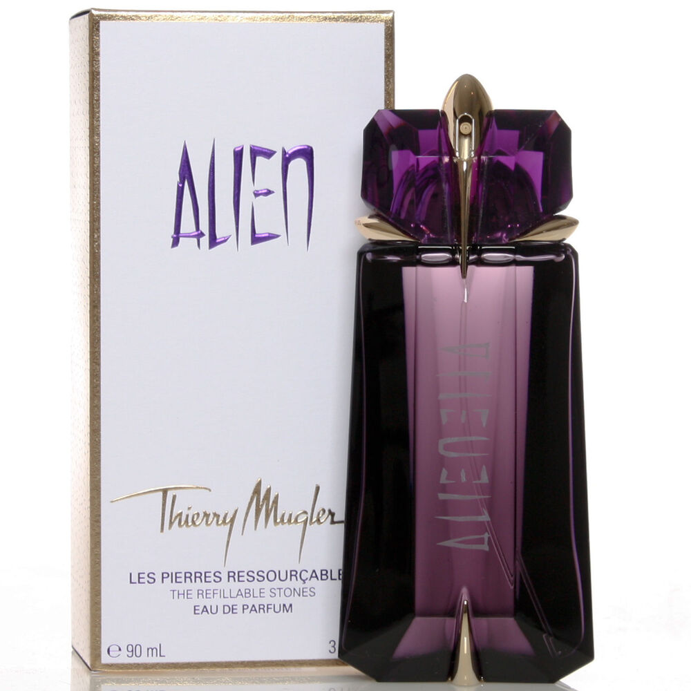 Alien Perfume By Thierry Mugler, 3 Oz EDP Spray For Women Refillable NEW
