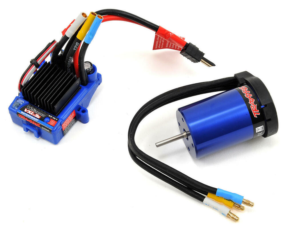 Traxxas Vxl 3s Waterproof Esc Velineon 3500 Brushless