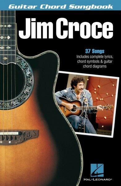 Jim Croce Guitar Chord Songbook Sheet Music Guitar Chord Songbook