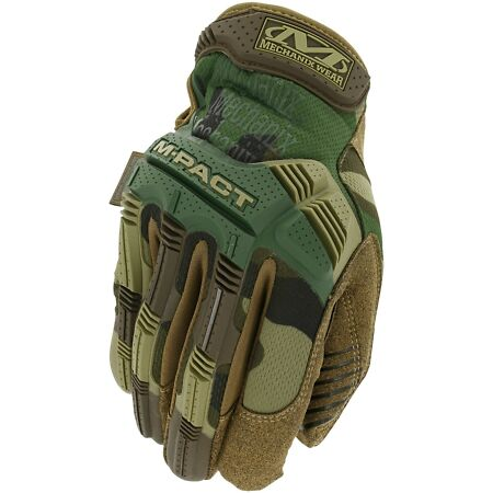 img-Genuine Mechanix Tactical M-PACT Gloves in NEW Woodland Camo all sizes MPACT