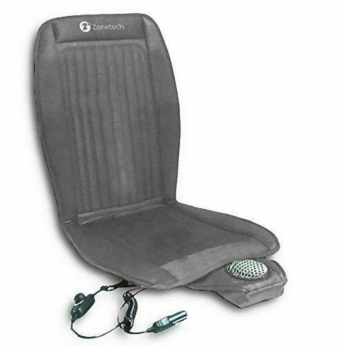 Zone Tech Car Seat Cooler Cushion Cover Summer Cooling