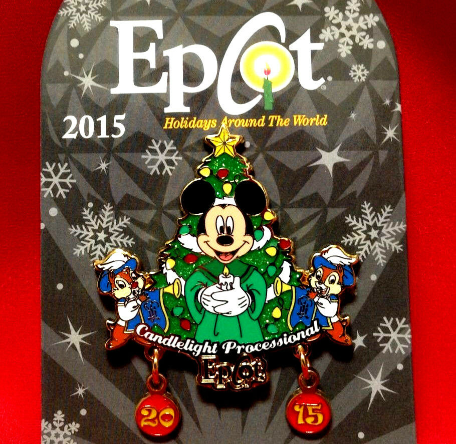 Epcot Candlelight Processional Dining Package Tips: Disney Pins Holidays Christmas Candlelight Processional