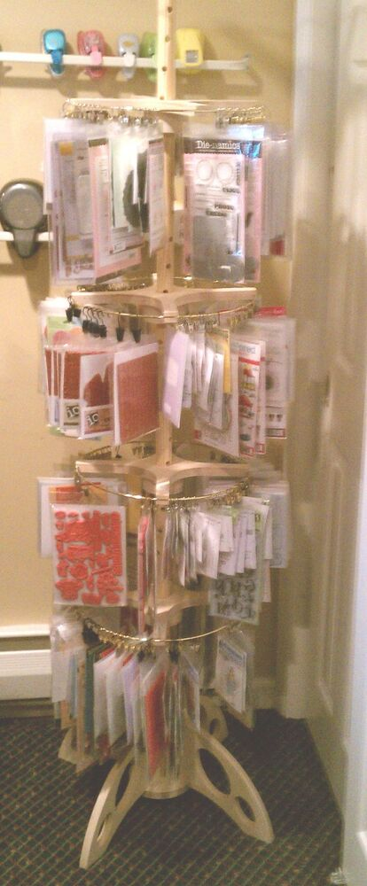 Clip Amp Spin Clip It Up Organizer For Rubber Stamps Paper