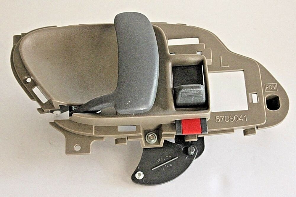 Chevy 3500 Hd Inside Inner Door Handle Tan Left Front 1995 1996 1997 1998 1999 Ebay