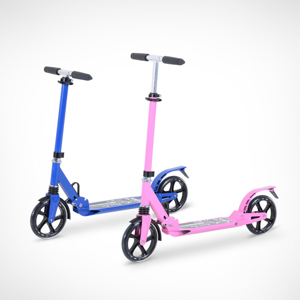 alu scooter tretroller cityroller kinder roller bike 2. Black Bedroom Furniture Sets. Home Design Ideas