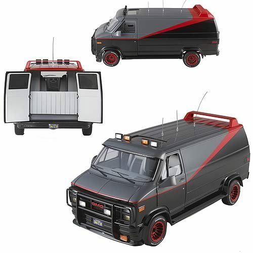 1983 gmc vandura cargo van a team elite 1 18 hot wheels