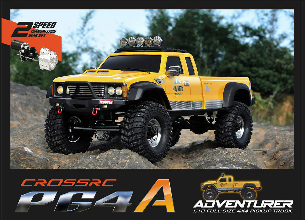 cross rc pg4a 4wd 1 10 scale off road truck rock crawler kit ebay. Black Bedroom Furniture Sets. Home Design Ideas