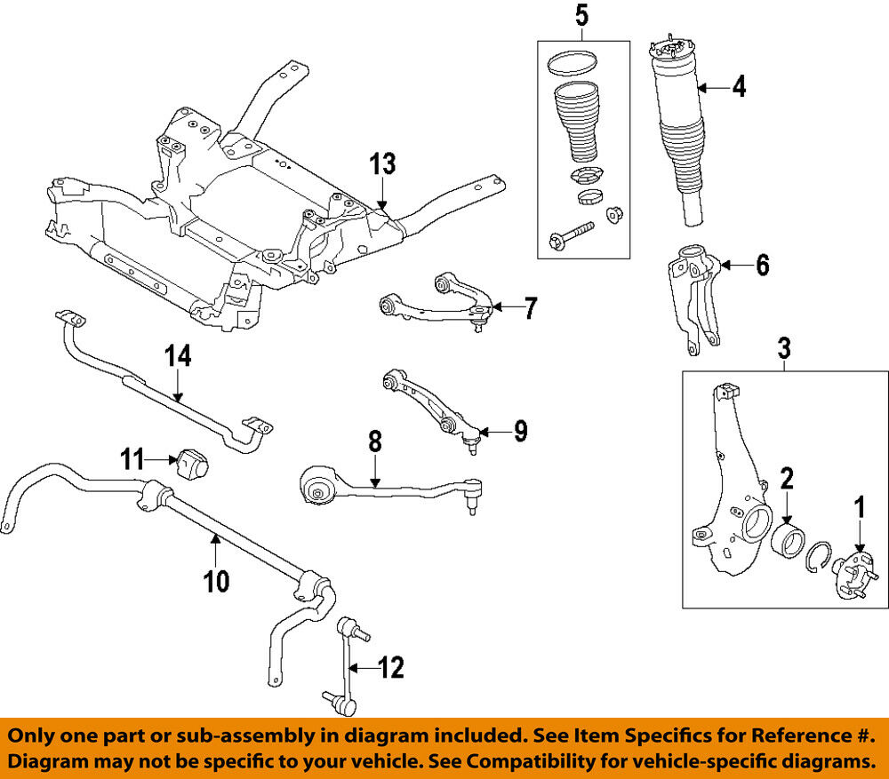 LAND ROVER OEM Range Rover Sport Lower Control Arm-Front