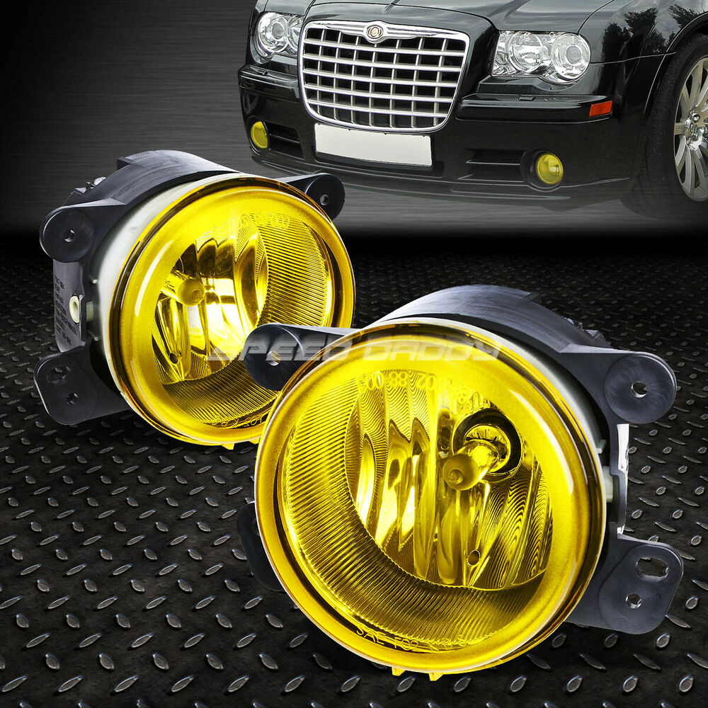 Purple Chrysler 300 Accessories Google Search: FOR 05-10 CHRYSLER 300/300C SRT-8 YELLOW LENS OE BUMPER