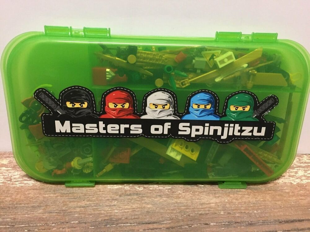Lego Ninjago Masters Of Spinjitzu Case Minifig Accessories