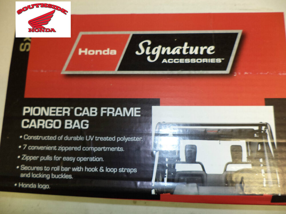 Big Red Storage >> GENUINE HONDA PIONEER 1000 ROLL CAGE CARGO BAG | eBay