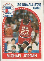1989 - 1990 Fleer Hoops Michael Jordan Chicago Bulls #21 Basketball Card