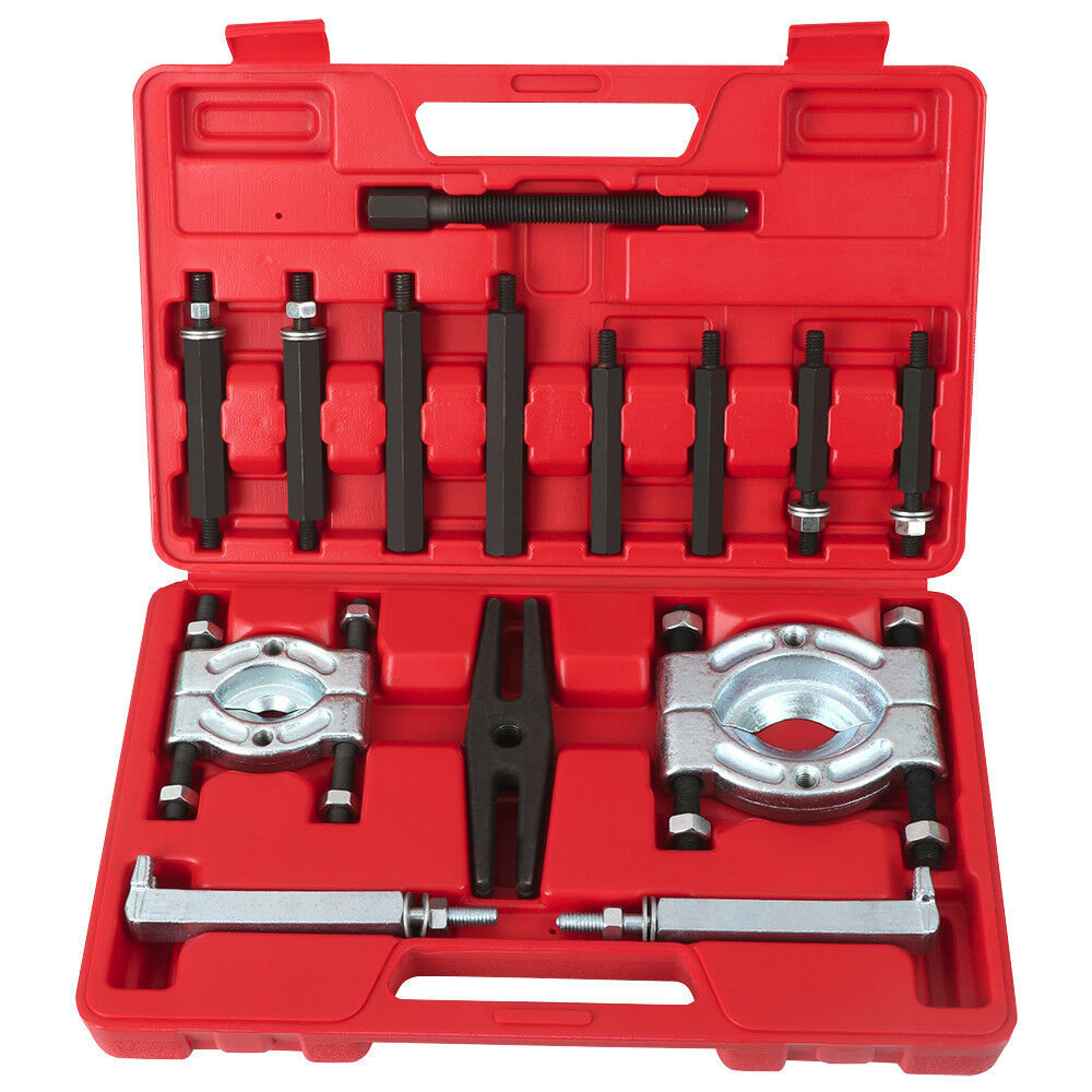Bearing Puller Kit Advance Auto : Pcs bearing separator puller set quot and splitters