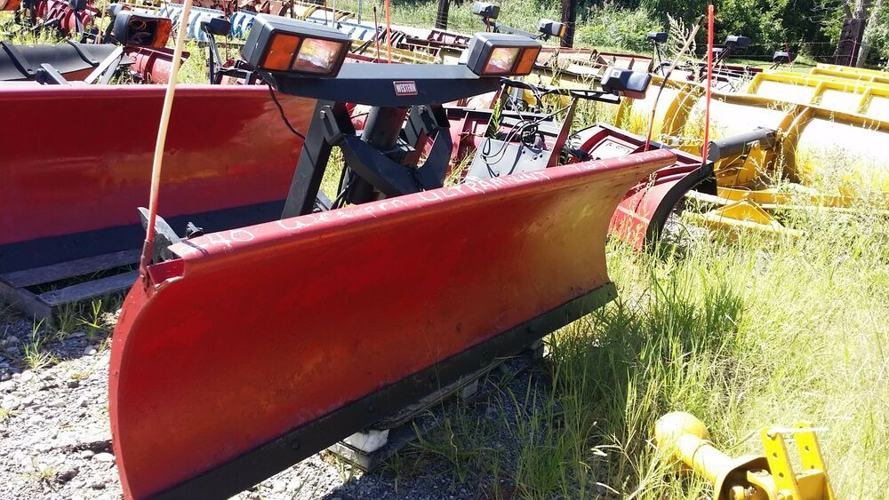 WESTERN ULTRA MOUNT 7.6 FT. HYDRAULICS FRONT PART ONLY SNOW PLOW SNOWPLOW #40 | eBay