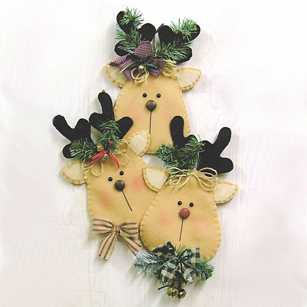 Country Side Crafts Rudy & Friends Wall Hanging Craft