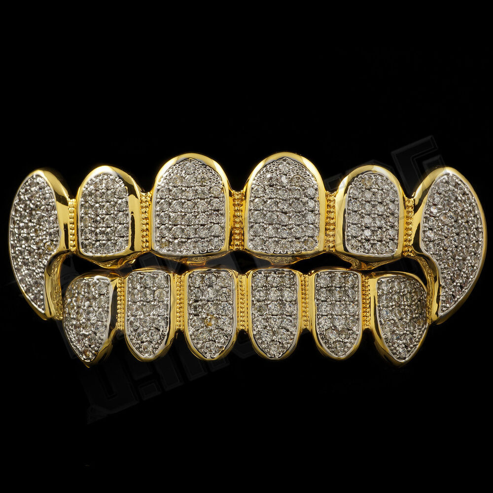 The fashion vampires with gold teeth 8
