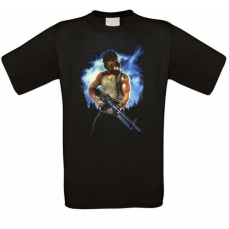 img-Rambo First Blood Sly Kult Movie T-Shirt Toutes Tailles Neuf