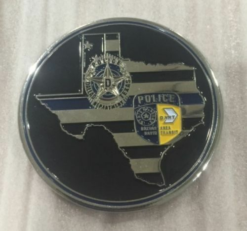 Dallas Police Fallen Officers Challenge Coin July 7 2016