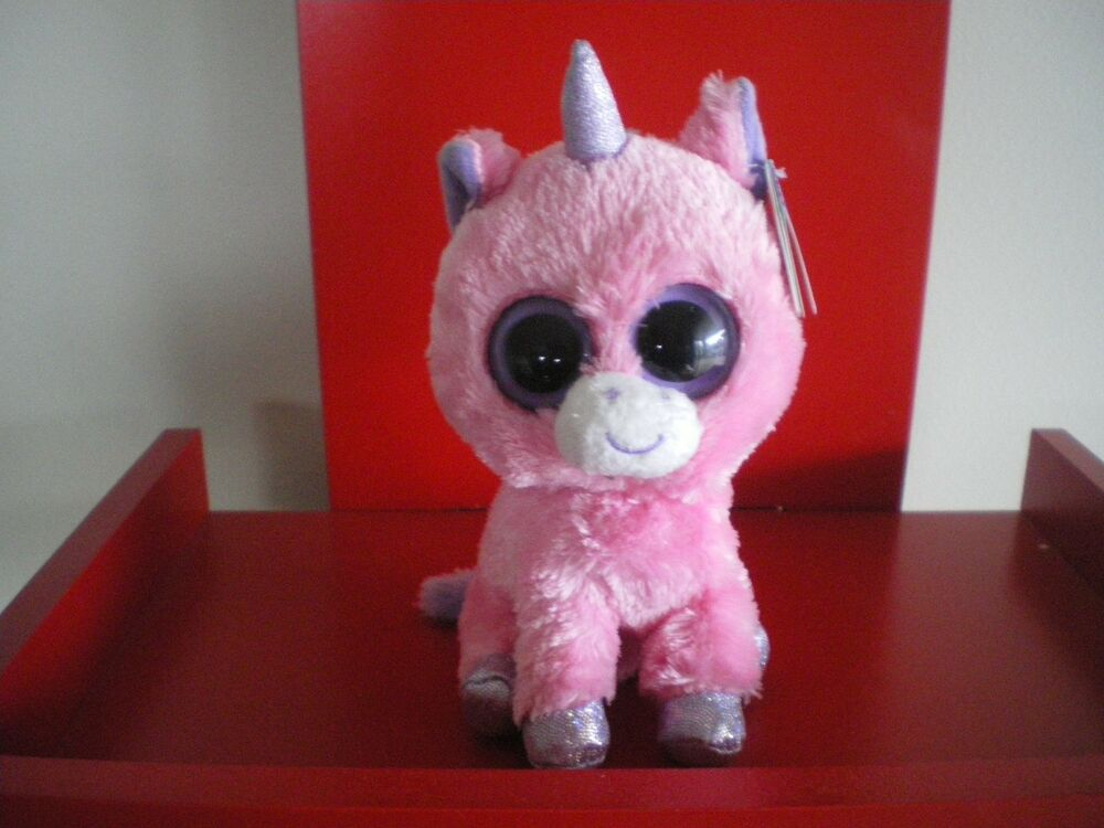 Details about Ty Beanie Boos MAGIC unicorn 6 inch NWMT. SOLID EYES -  RETIRED. 85226613927f