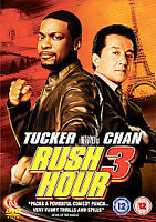 Rush Hour 3 (DVD, 2007) FOREIGN IMPORT ENGLISH AUDIO