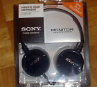 New Sony MDR-ZX100 Stereo Monitor Headphones iPod MP3