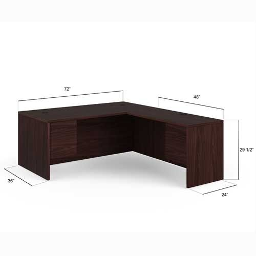 hon 10500 series left handed l shaped desk 105ll7284n ebay