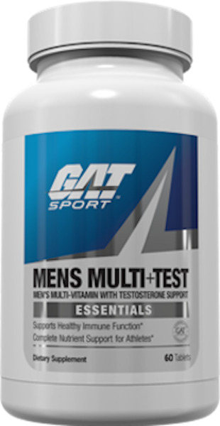 GAT MENS MULTI+TEST 60/150 TABLETS FREE SHIPPING 2019 Expiration FREE SHIPPING