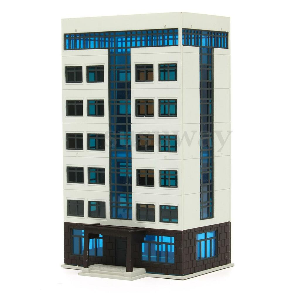 New outland railway models colored modern city building for New model apartment