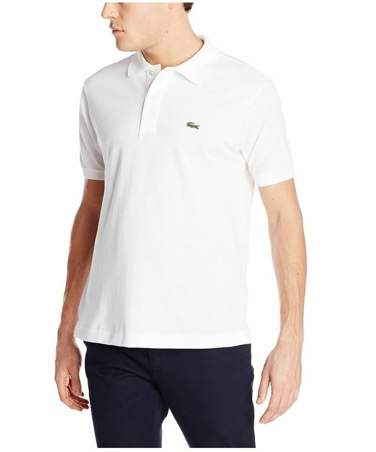new lacoste men 39 s short sleeve pique original fit polo shirt ebay. Black Bedroom Furniture Sets. Home Design Ideas