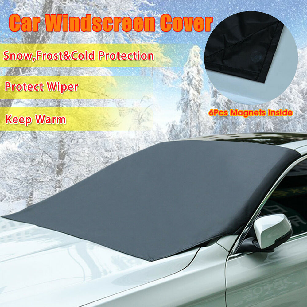 car truck magnet windshield windscreen cover sun snow ice. Black Bedroom Furniture Sets. Home Design Ideas