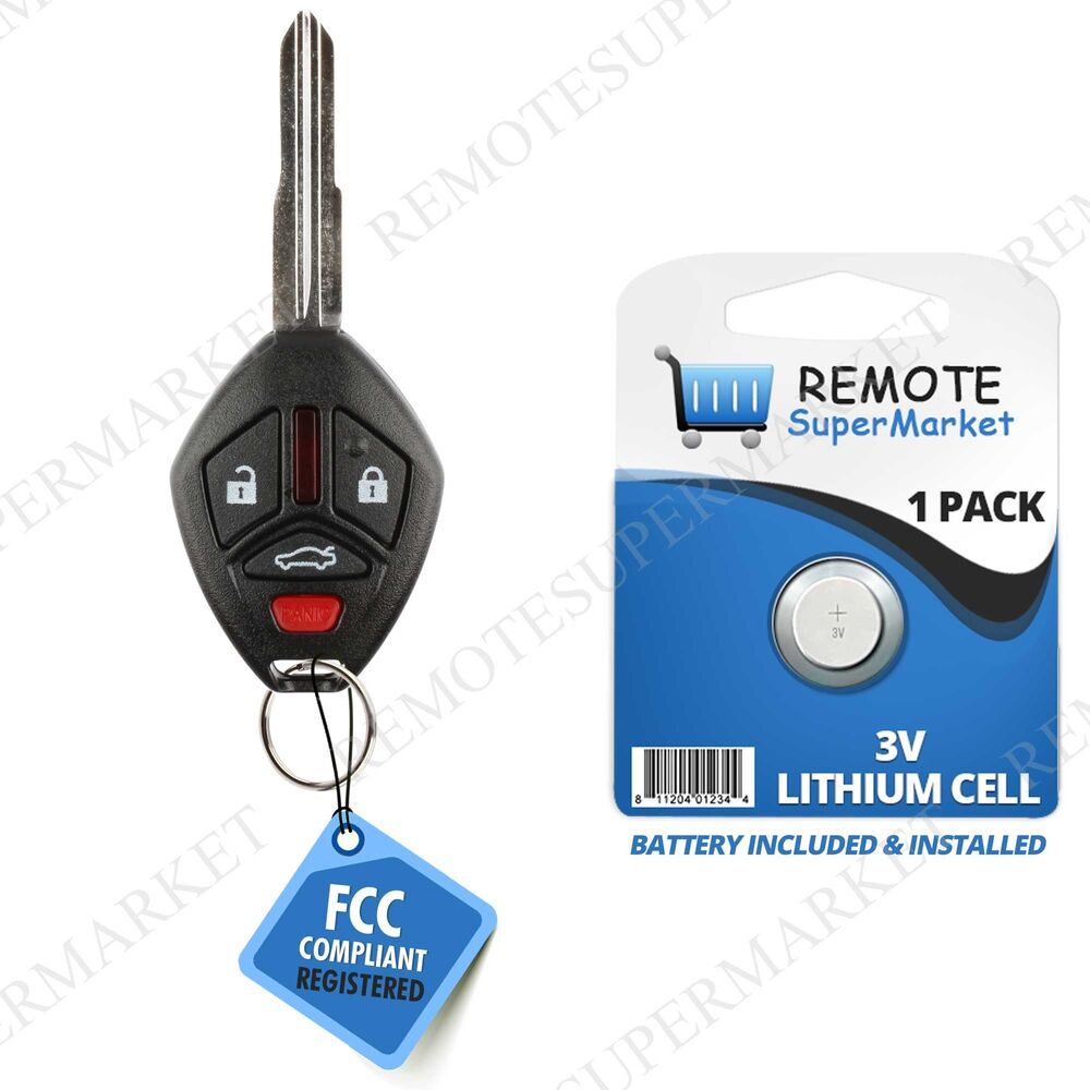 Replacement For 2007 2012 Mitsubishi Galant Eclipse Remote