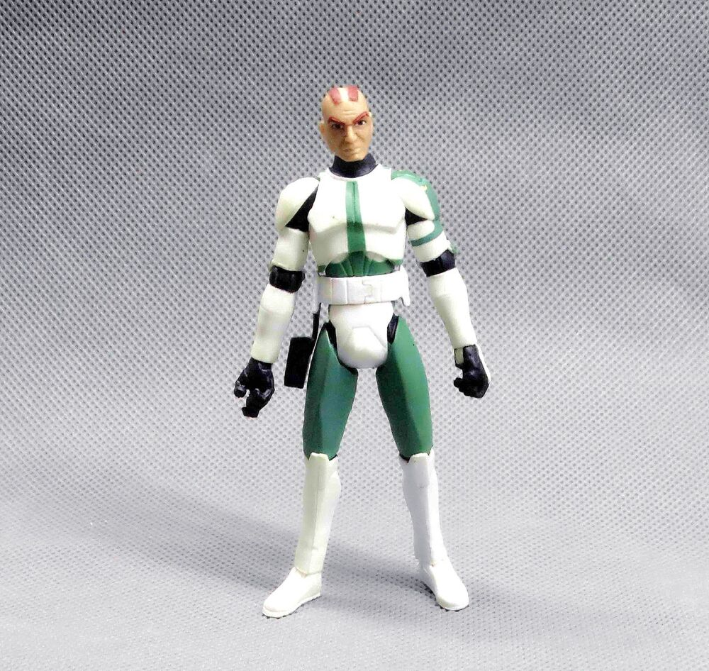 Star Wars The Clone Wars Toys : Hasbro star wars the clone trooper commander