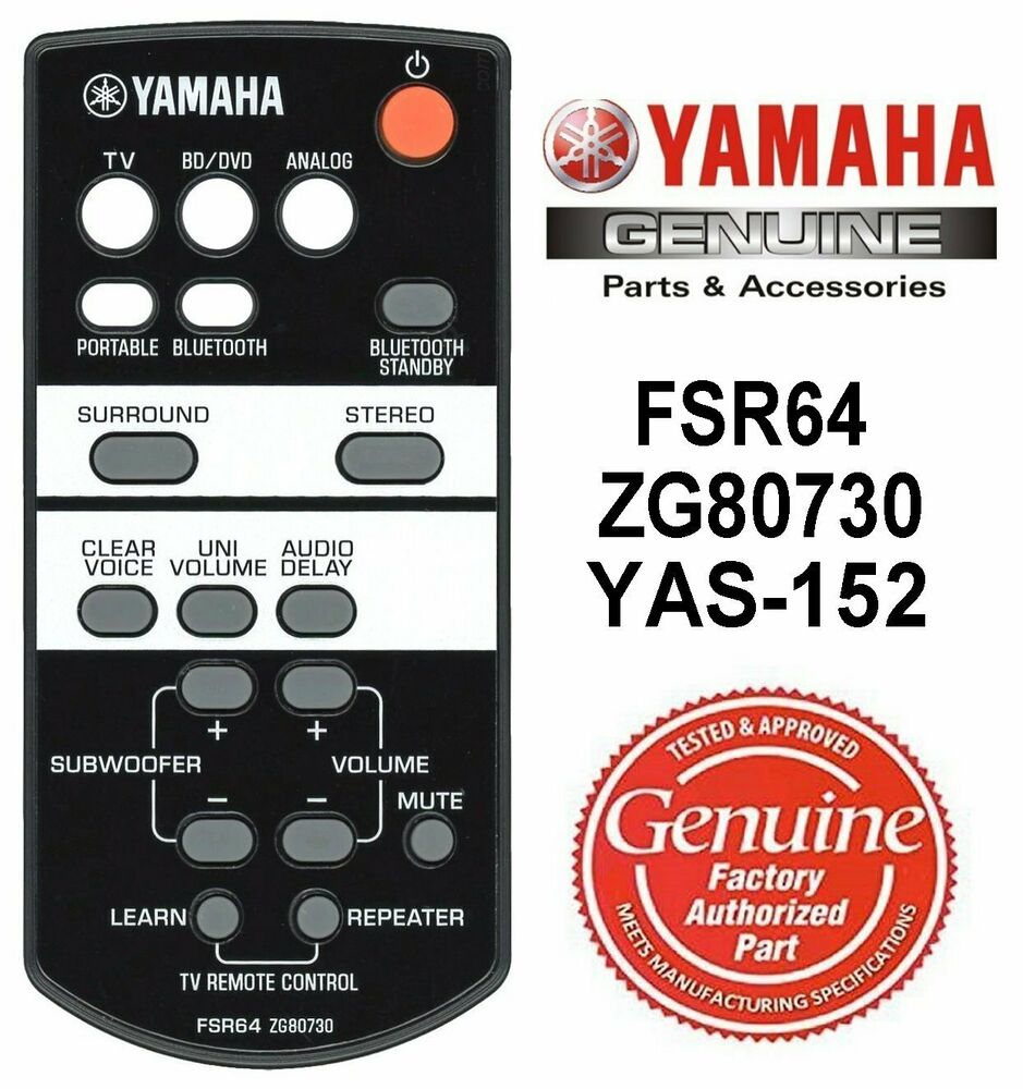 New yamaha micro cd receiver remote control ws19340 crx for Yamaha receiver customer support phone number