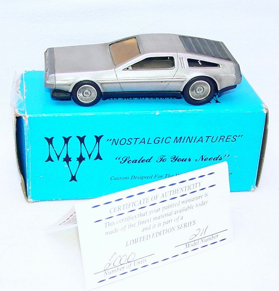 Mvm Models Usa 1 43 Delorean Giorgetto Giugiaro Kit Car