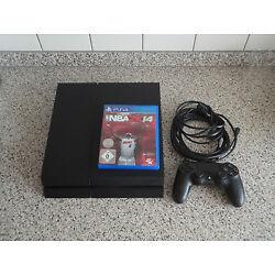 Sony PlayStation 4 (Aktuellstes Modell)- 500GB Schwarz Spielekonsole