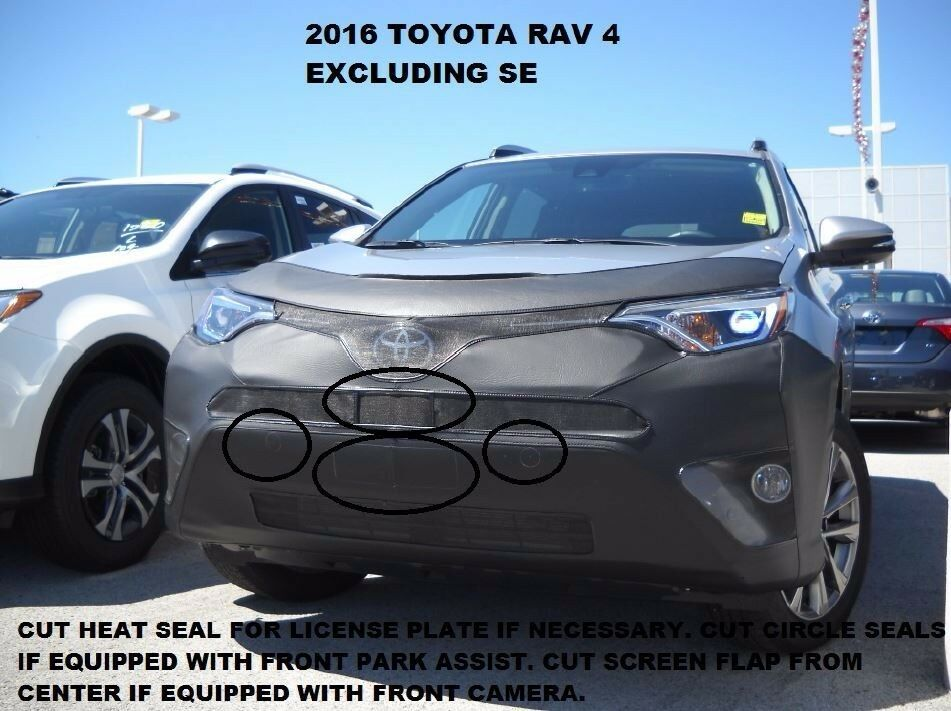 Details About Lebra Front End Mask Cover Bra Fits Toyota Rav4 2016 2018 16 18
