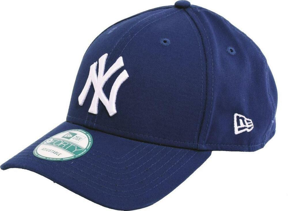 Details about NEW ERA - 9FORTY ADJUSTABLE CAP. LEAGUE BASIC NEW YORK  YANKEES. ROYAL BLUE 5866c2adc70