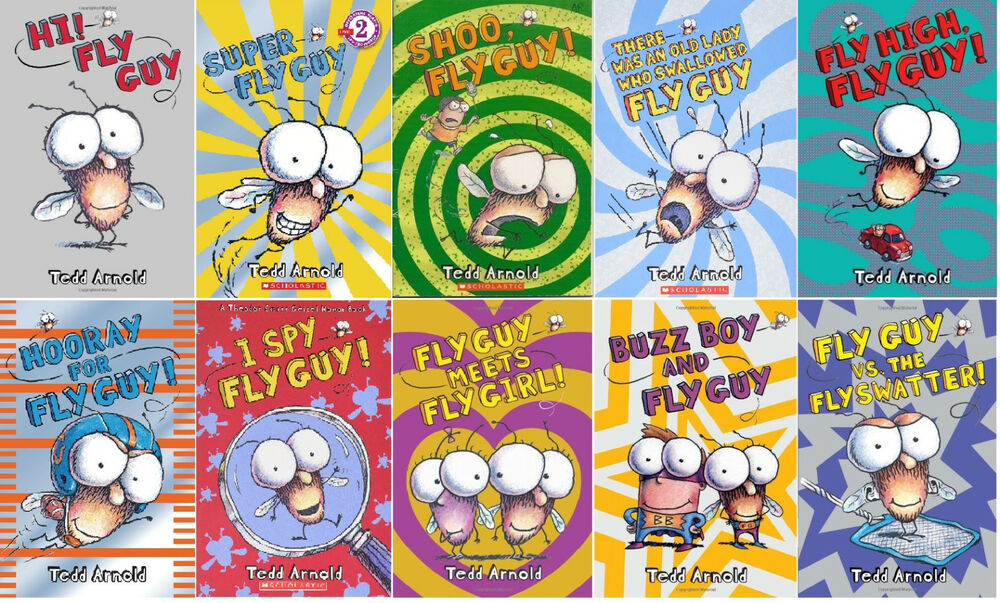Scholastic Reader Level 2: Hi! Fly Guy by Tedd Arnold (2006, PB)-FREE SHIPPING