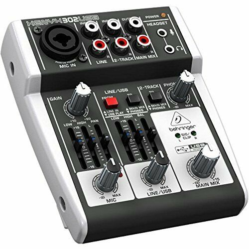 behringer xenyx 302usb 5 input mixer usb audio interface new from japan ebay. Black Bedroom Furniture Sets. Home Design Ideas